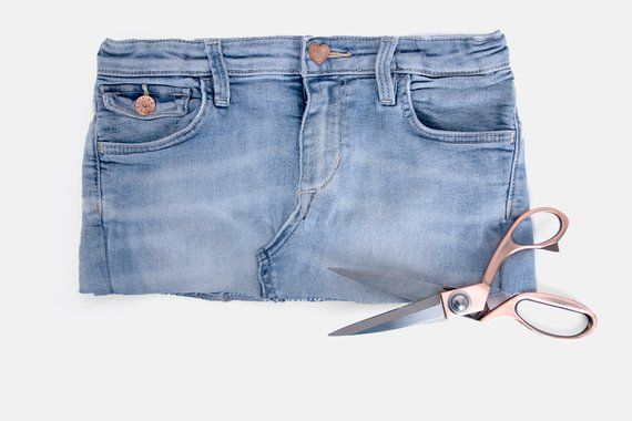 Coser una canasta de tela de jeans viejos  – Bolsa