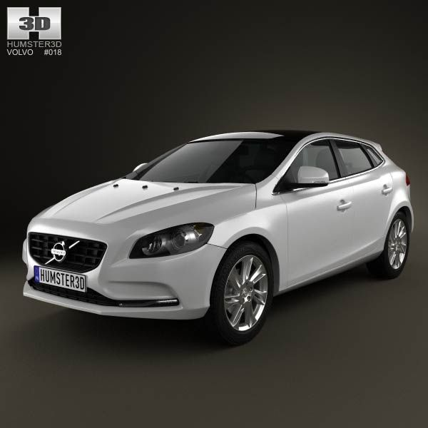 Volvo Pricing: Volvo V40 2013 3d Model From Humster3d.com. Price: $75