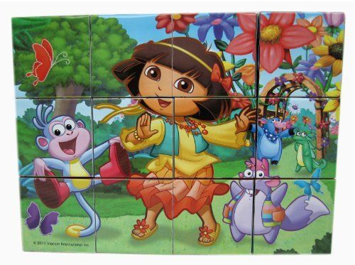 Dora the Explorer Wood Block Puzzle by puzz-dora-29a-e18. $12.99. Dora the Explorer Wood Block Puzzle Comes with colorful Dora puzzle! A great way to spend the afternoon!Great for kids!