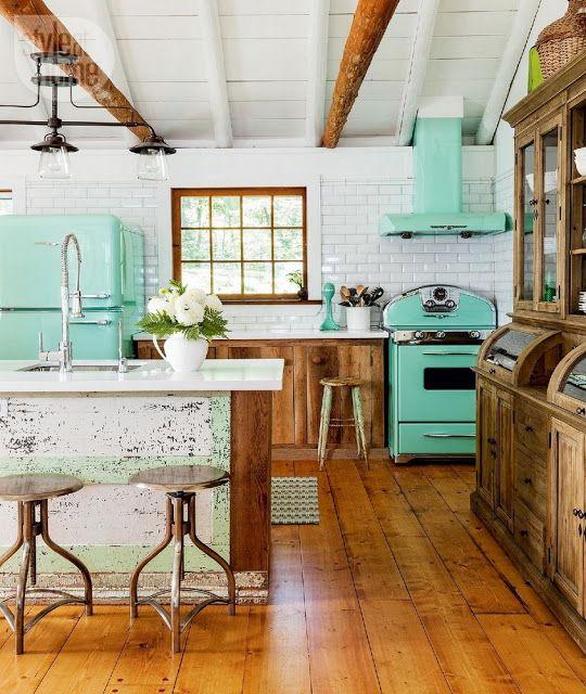 Lovely Deco: Une cuisine colorée