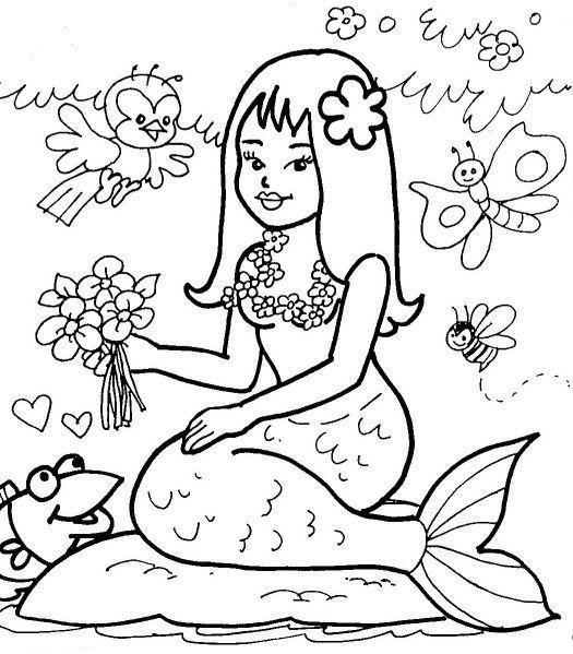 Desenhos Do Folclore Brasileiro 7 Desenho Folclore Iara Para