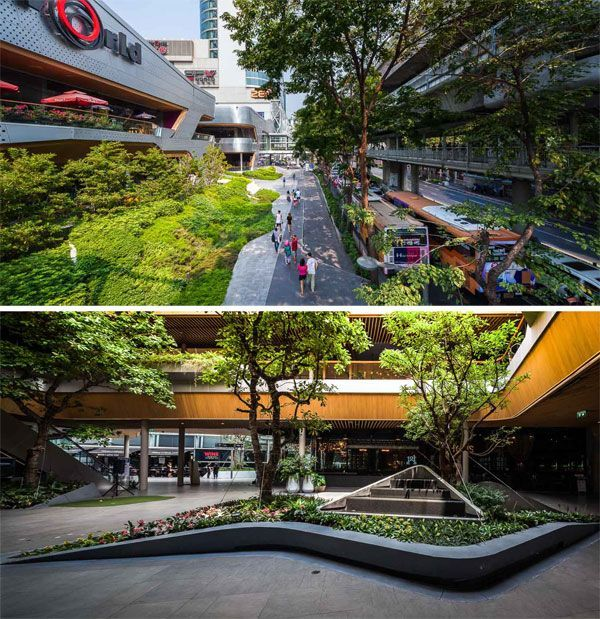 Garden Walk Mall: Walk Of The Town, By T.R.O.P: Terrains+open Space In