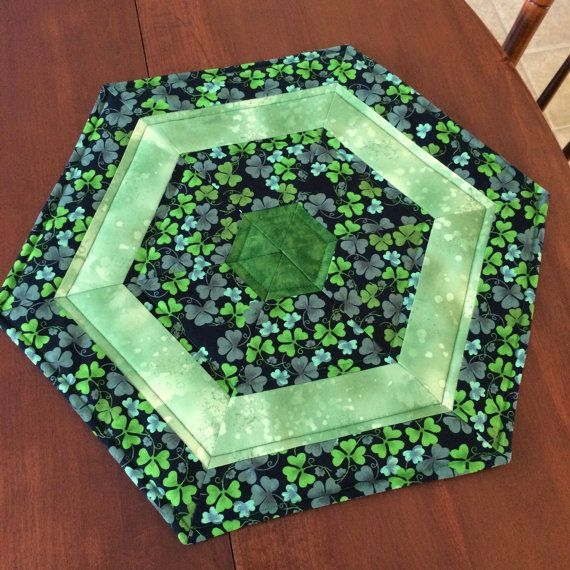 Day Quilted Hexagon Table Runner Table Runners