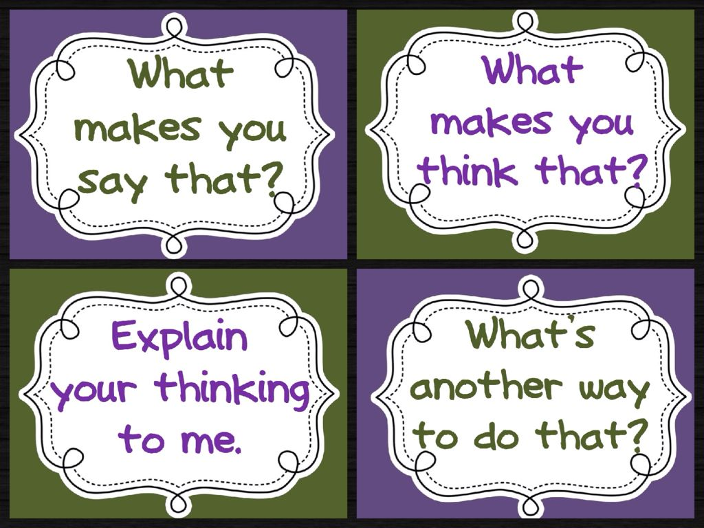 Set Of Four Printable Thinking Routine Posters Also Has