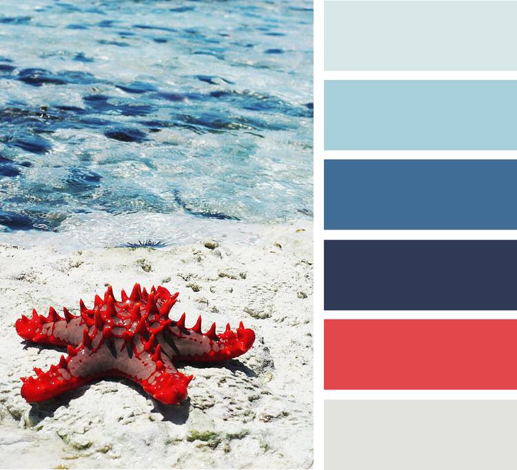 Welche Farbe Passt Zu Blau Und Rot Weißgrau Marineblau In