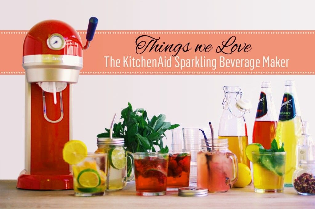 Things we love the kitchenaid sparkling beverage maker