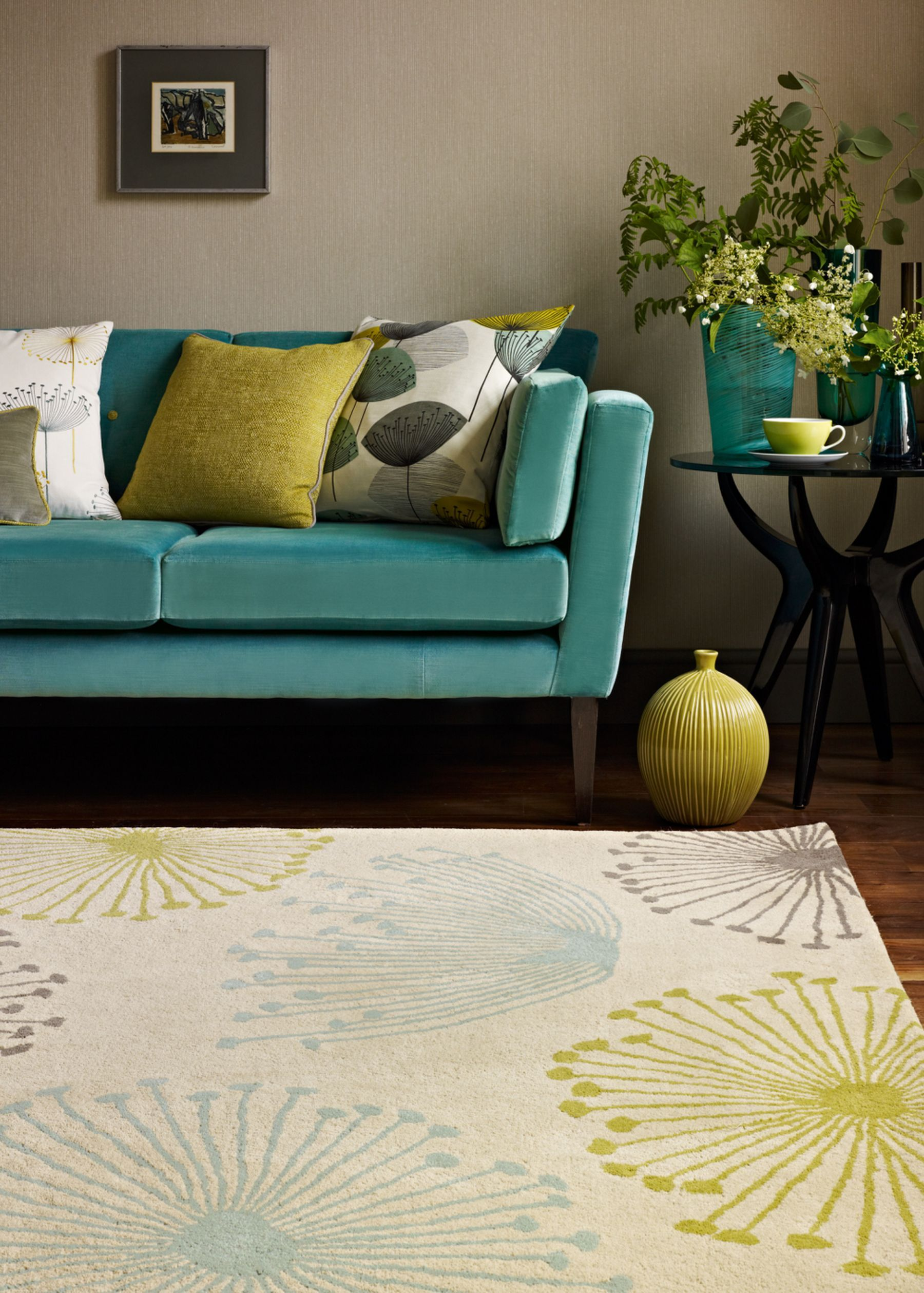 A Perfect Match To The Dandelion Clocks Fabric And Wallpaper