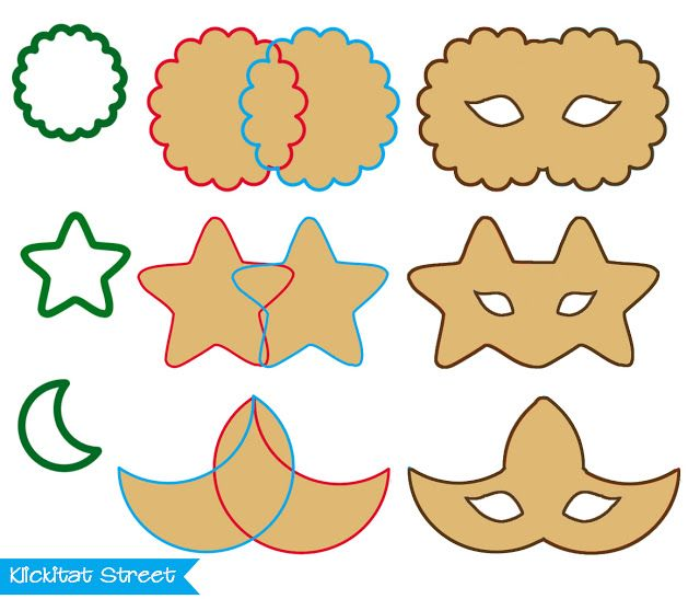 cutting mask cookies with basic cookie cutter shapes royal icing