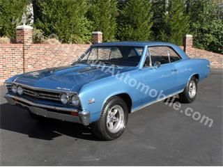 My 2nd car  A 1967 Chevelle SS 396 with 4-speed transmission