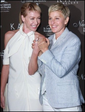 Ellen degeneres wedding rings Wedding Ideas Pinterest Ellen