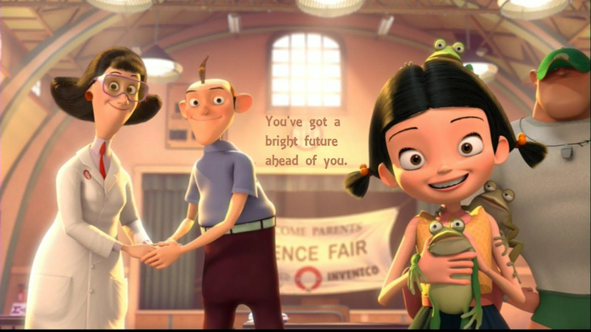 meet the robinsons wilbur quotes about strength