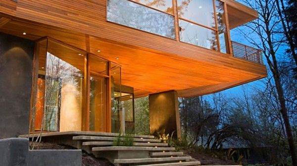 The Hoke House The Cullen S Home In The First Twilight Movie With Images Twilight House Architecture House Architecture
