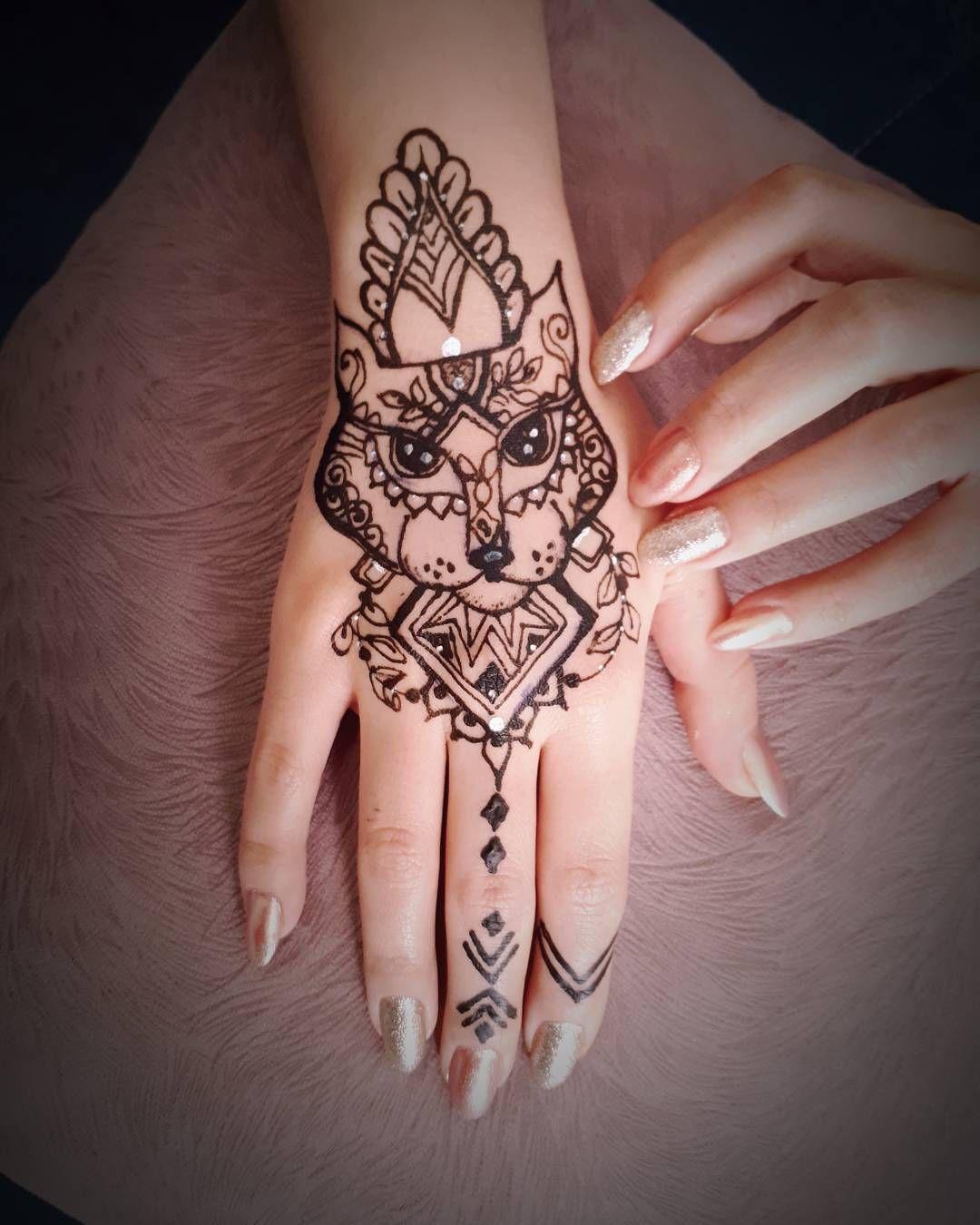 نقش حنا توسط شهرزاد بدون شابلون Henna Tattoos Pinterest