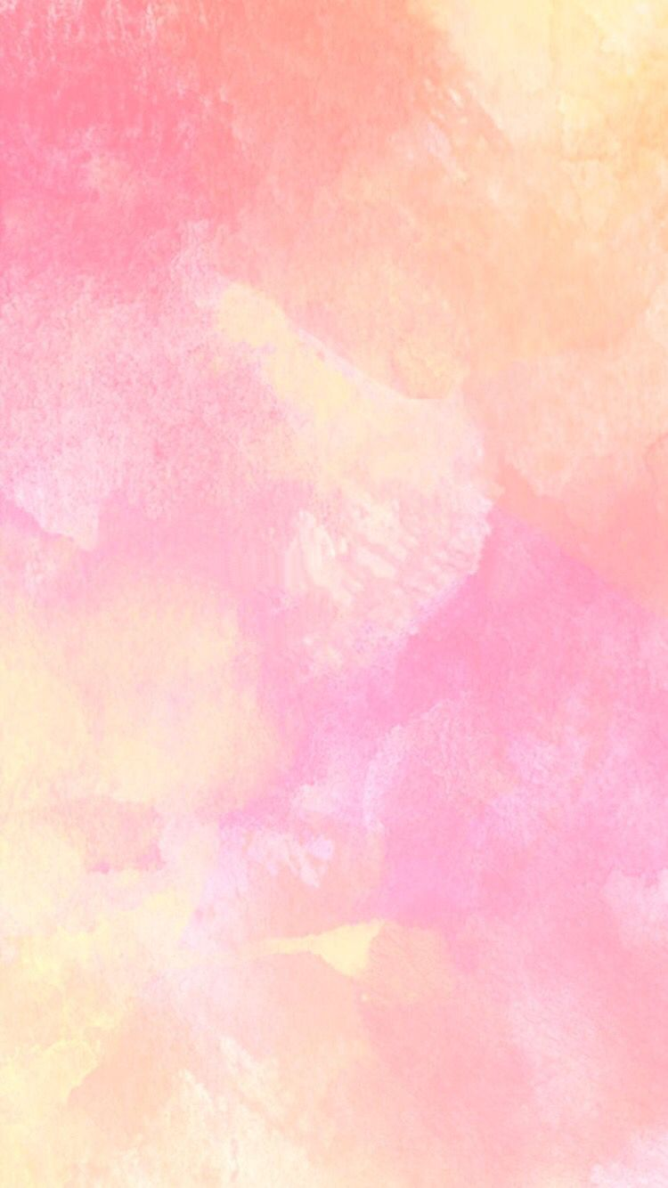 Pink Watercolour Iphone Wallpaper Fondos De Colores Fondos De