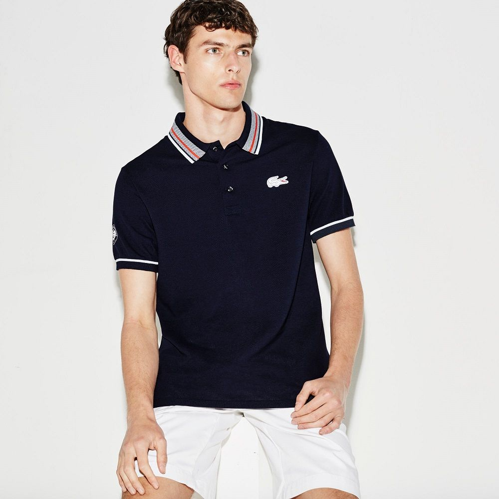 Roland Lacoste Petit Sport Garros En Uni Piqué Polo Edition xO0qaBw0Z