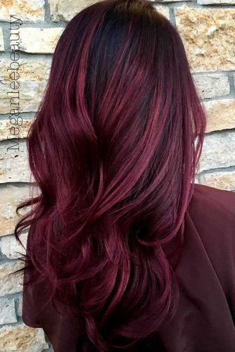 27 Best Dark Ombre Hair Ideas | Aubergine hair color, Hair ...