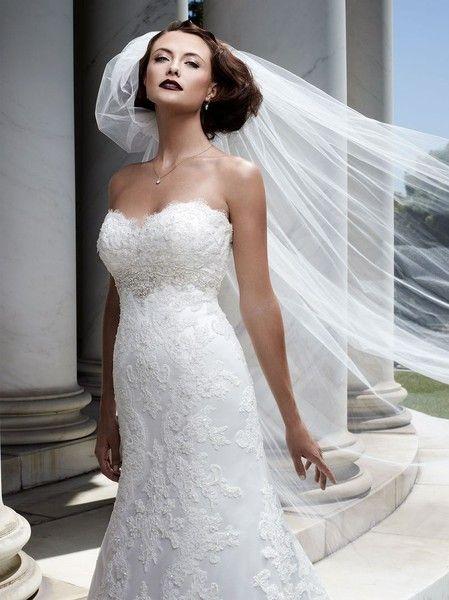 Casablanca beaded strapless sweetheart aline | Casablanca bridal ...