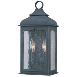 Check out the Troy Lighting B2010CI Henry Street 2 Light Pocket Lantern in Colonial Iron priced at $248.00 at Homeclick.com.