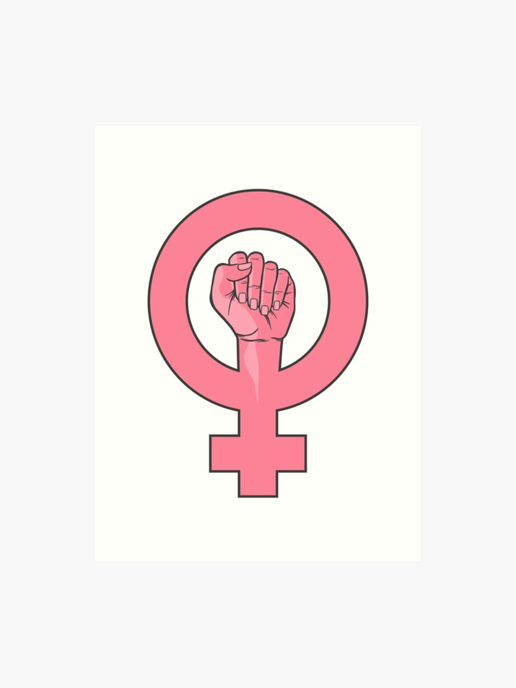Feminist Women Female Gender Sign Fist Gender Signs Female Gender Sign Equality Tattoos