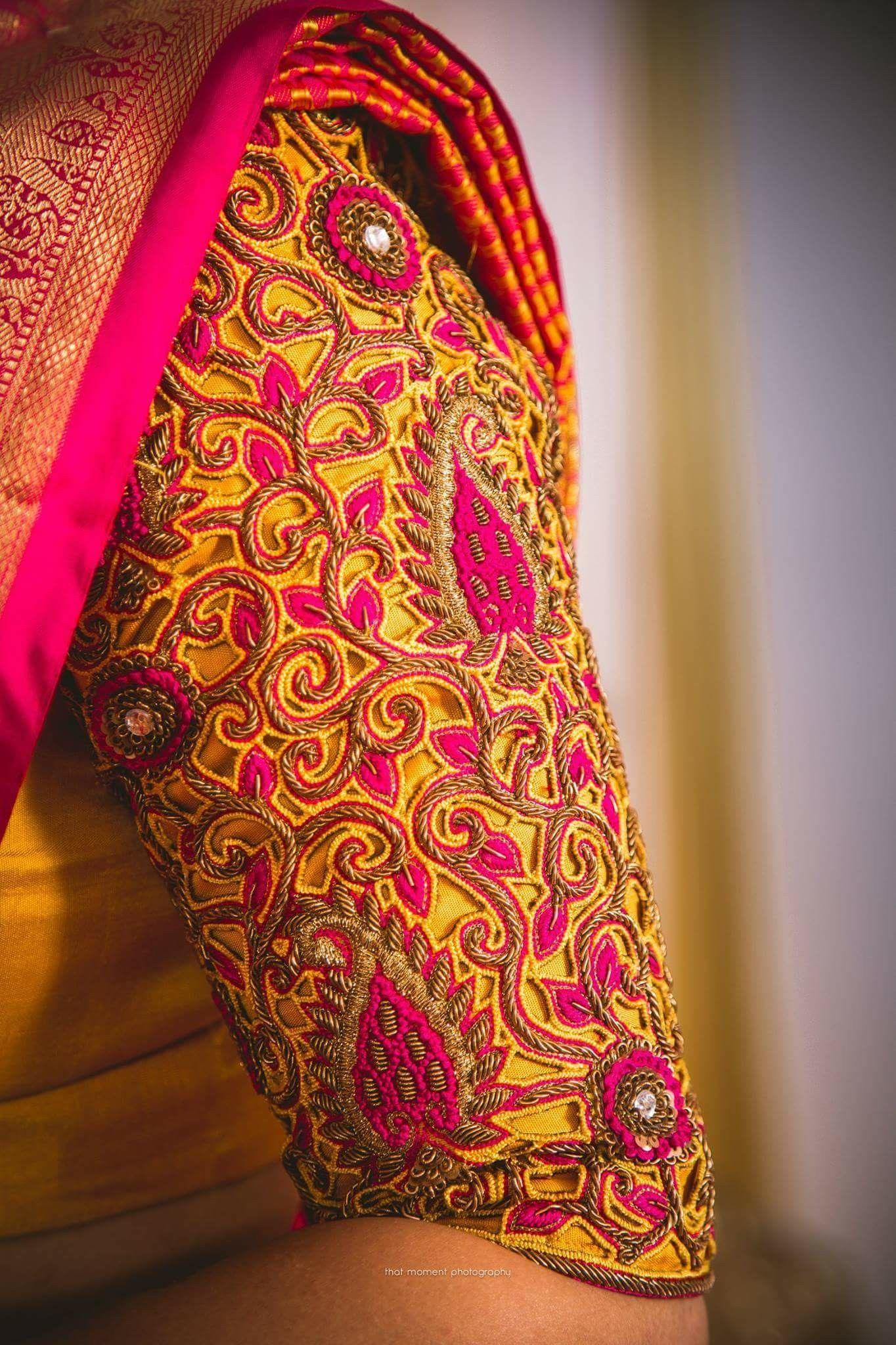 Wedding Saree Blouse Designs Silk Patterns Sarees