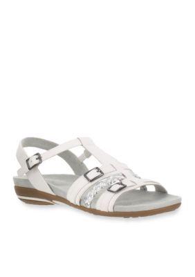Easy Street White Parker Sandal