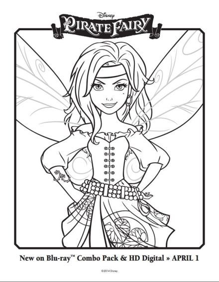 The Pirate Fairy Free Printables Activities And Downloads Featuring Tinker Bell Friends