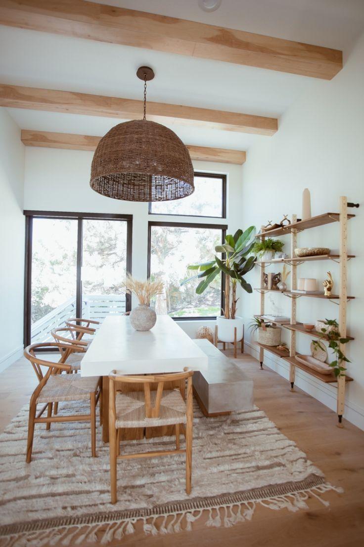 Dining Room Reveal - Cara Loren #diningroom #bohomodernhome