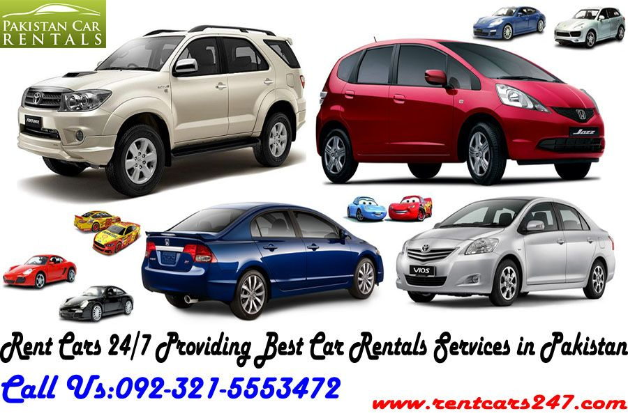 Rent Cars 24 7 Providing Best Car Rental Services In Pakistan With Lowest Rates Car Rental Car Rental Company Car Rental Service