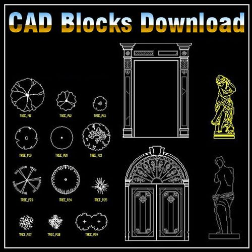 Cad Library Autocad Blocks Amp Drawings ★【landscape Design