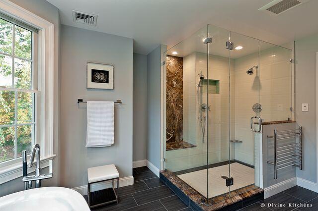 3 Bathroom Renovations 3 Budgets Divine Design Build Dream Bathrooms Bathroom Renovations Building Design
