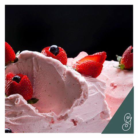 gelato de morango