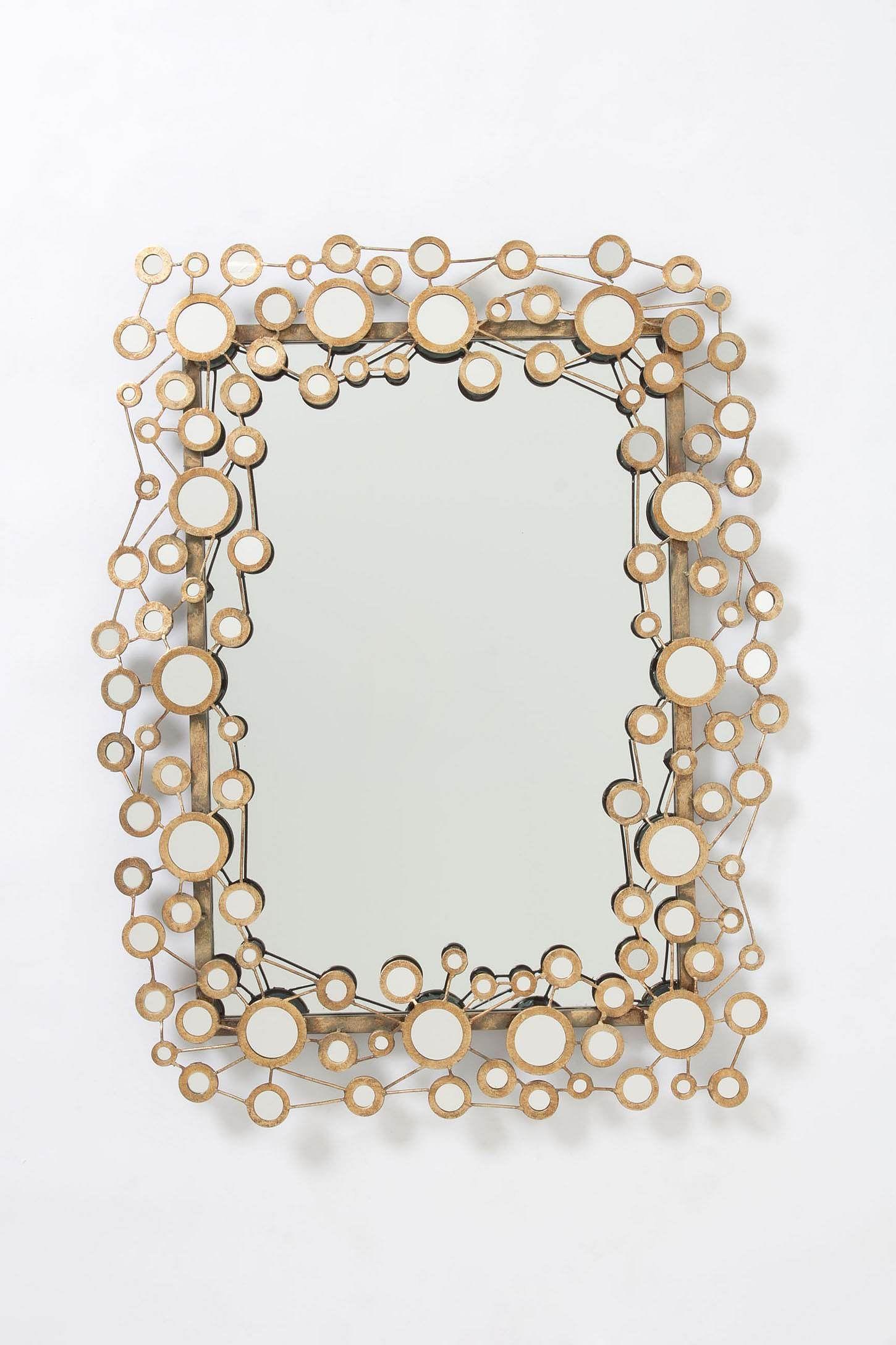 Circle Jig Mirror - Anthropologie.com