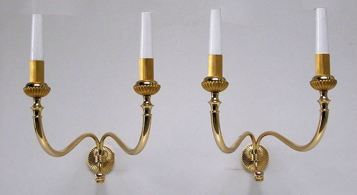 Catawiki, pagina di aste on line  Pair of Imperial style lights, 1940, Italy