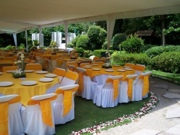 Organizacion de eventos servicio de banquetes y for Decoracion bautizo en jardin