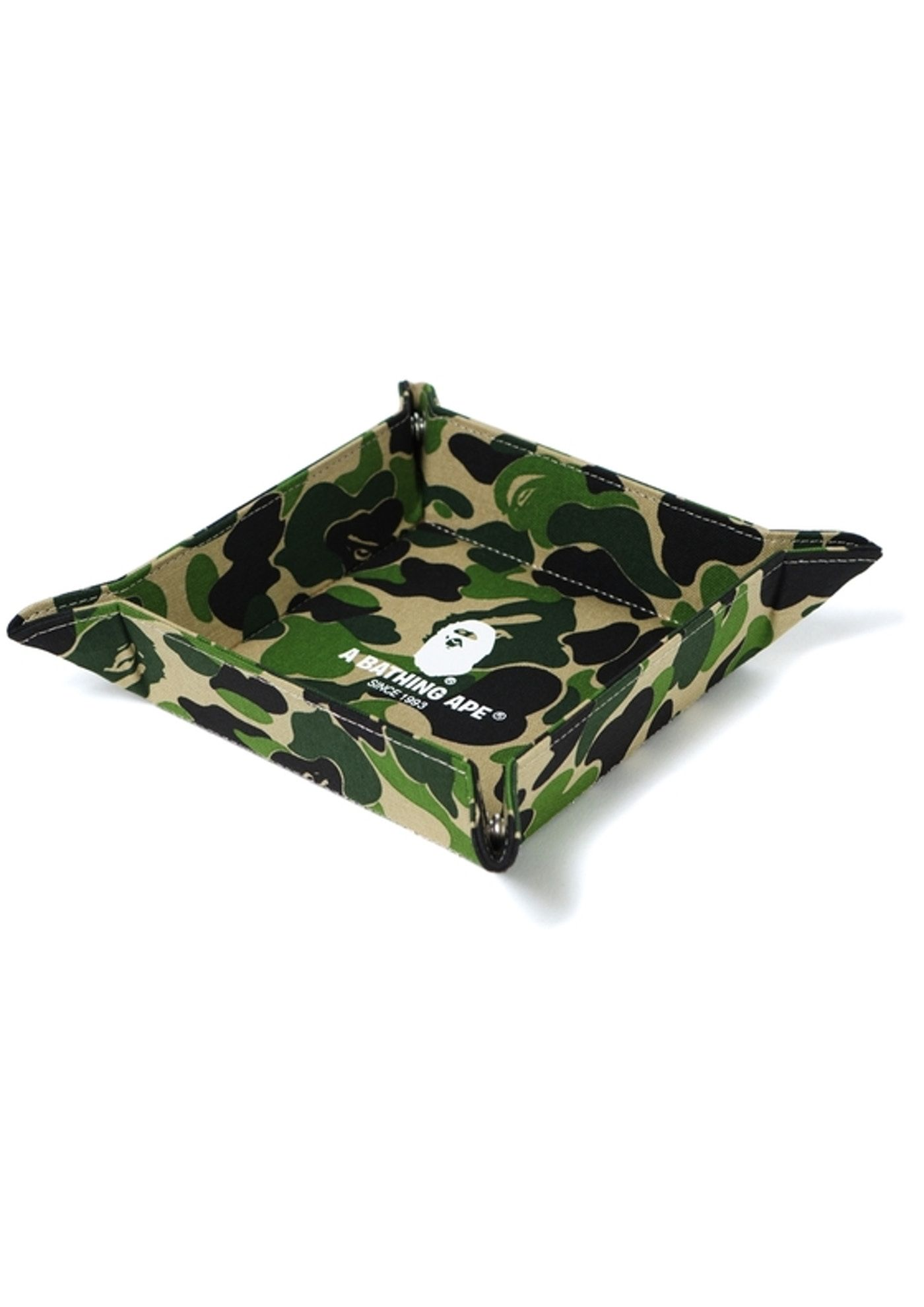 6f30cdb9 Check out the Bape ABC Tray (L) Green Camo available on StockX ...