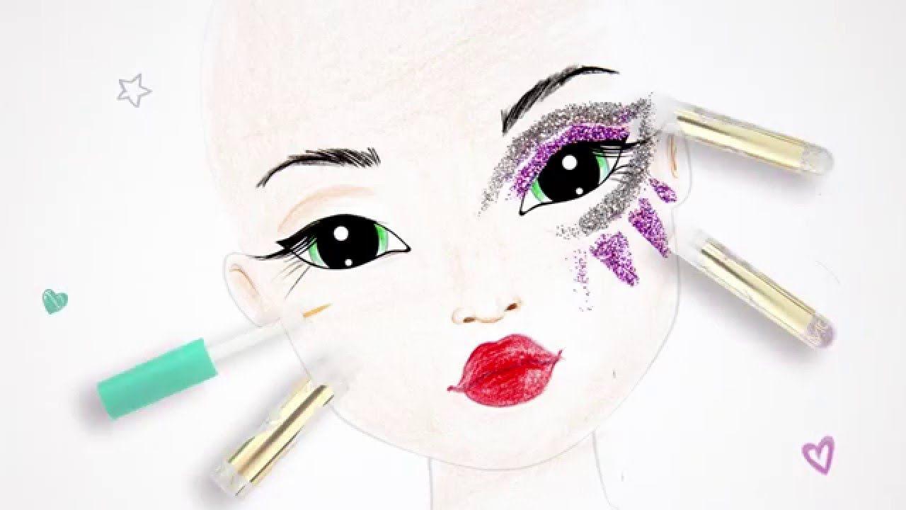 topmodel fantasyset  tipps makeup zeichnen  topmodel