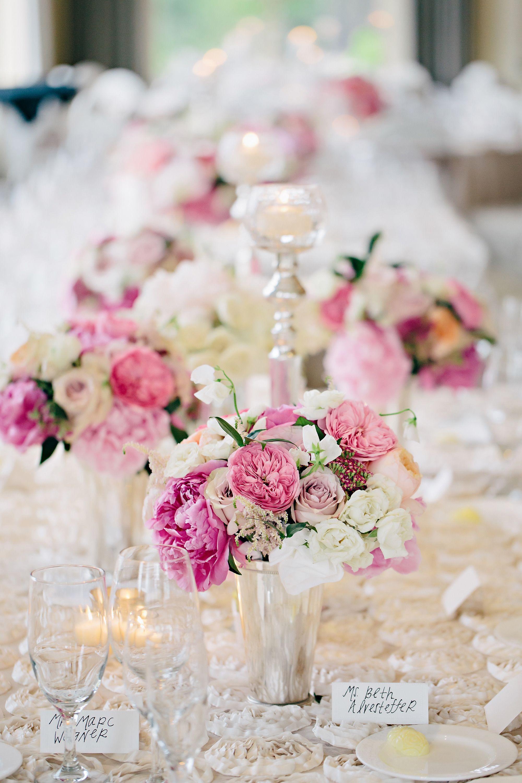 Glamorous Pink Garden Wedding at Cascade Hills Country Club   Pink ...