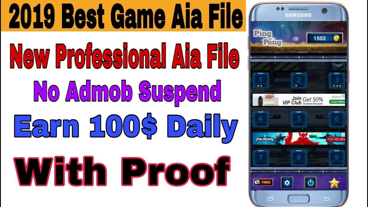 Appybuilder high cpc gaming best aia file | 2019 | No Admob