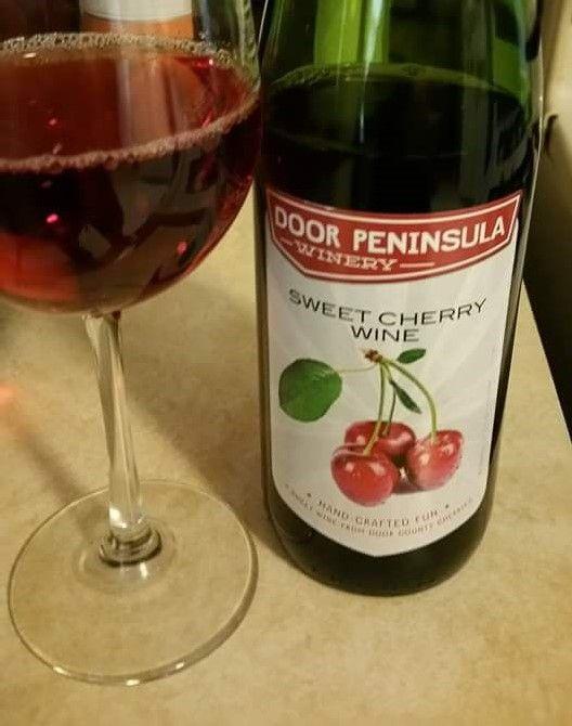 Door Peninsula Winery Sweet Cherry Wine Sturgeon Bay Wisconsin Cherry Wine Sweet Wine Sweet Cherries