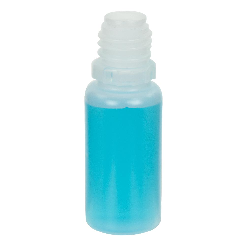 10ml Natural Ldpe Boston Round Crc E Liquid Bottle U S Plastic Corp Bottle Diy E Liquid Bottle Cap