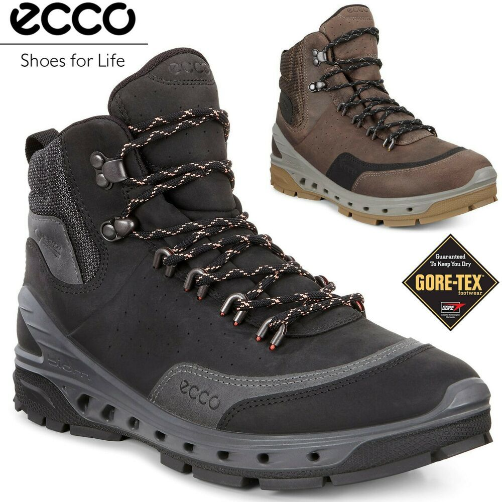 Ecco Biom Venture Tr Goretex Leather All Terain Outdoor Hiking Boots Ecco Hikingtrail Hiking Boots Brown Hiking Boots Sneakers Men Fashion
