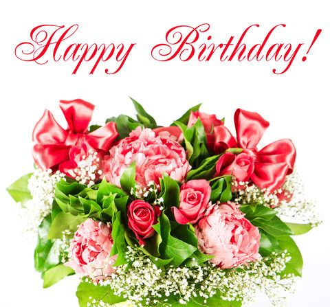 Happy Birthday Day With Flower Flowers Happy Birthday