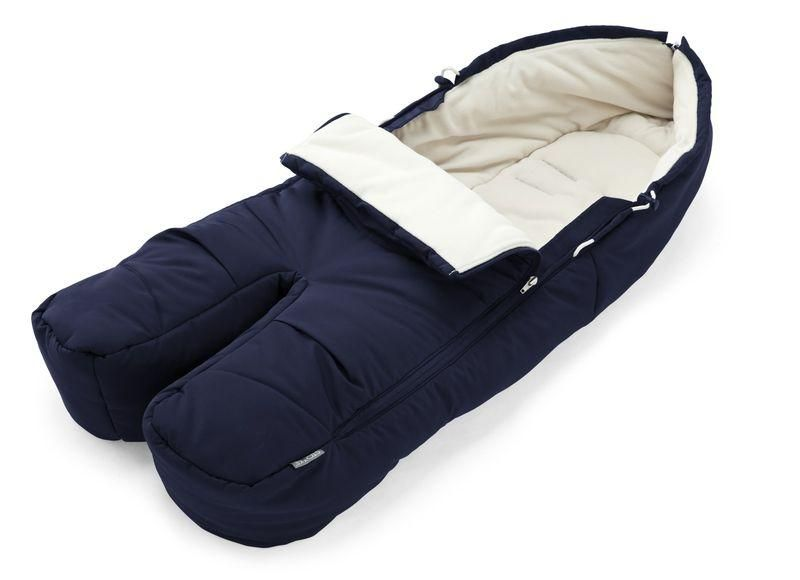 33671f378 Stokke Foot Muff keeps baby cozy warm in cool weather