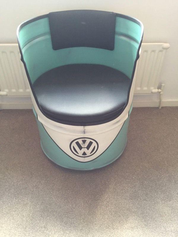 Oil Drum Seat   ค้นหาด้วย Google | ถัง | Pinterest | Oil Drum, Drum Seat  And Drum Chair