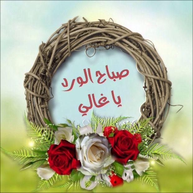 صباح الورد Morning Greeting Good Morning Images Morning Images