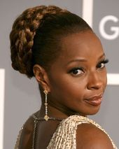 25 Updo Hairstyles For Black Women  Hair  Black Hair Bun Black  #bunshairstylesf #bunshairstylesforblackwomen