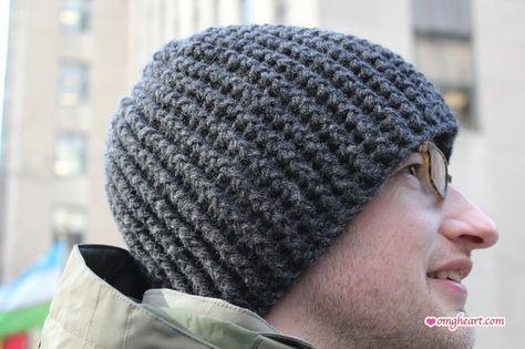 Easy Mens Crochet Hat Pattern Here Is A Simple Crochet Hat Done