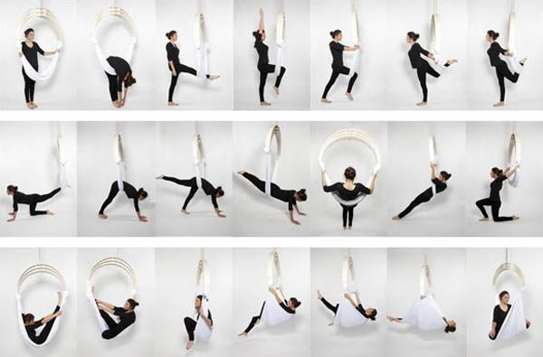 Zen Circus Chair Design Hanging Hammock Chair For Exercising Aerial Yoga Anti Gravity Yoga Yoga Swing