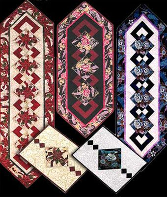 pinterest quilted table runners | Free Quilt Pattern: Pam's ... : free quilting patterns for table runners - Adamdwight.com