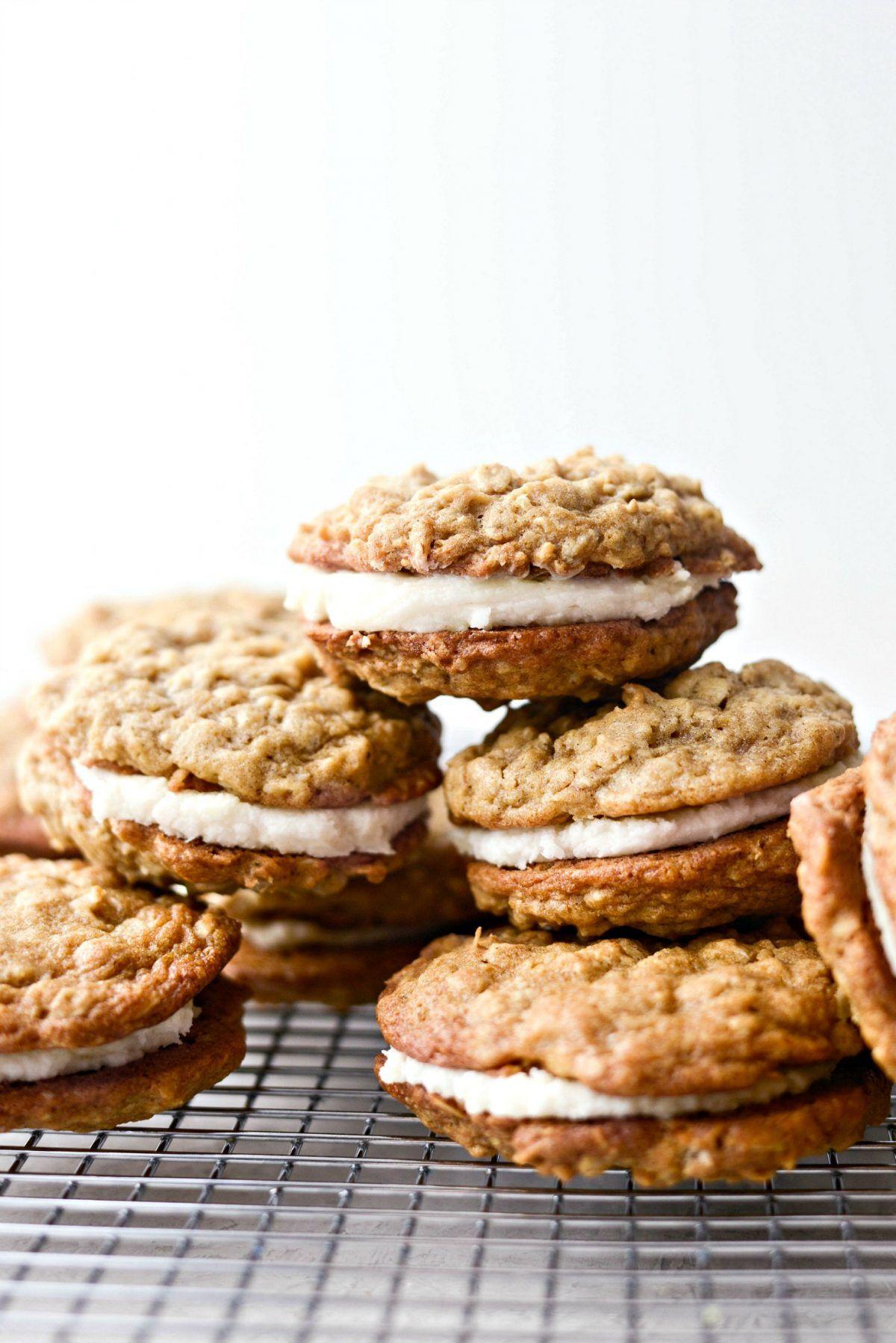 Homemade Oatmeal Cream Pies Recipe Homemade Oatmeal Oatmeal